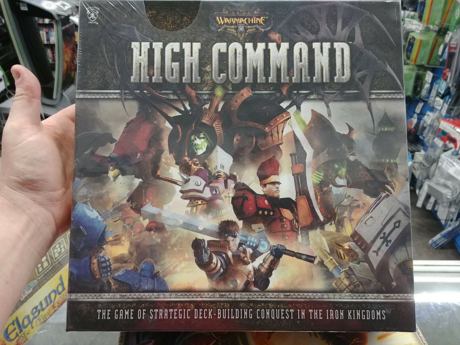 Warmachine High Command Board Game Privateer Press Pip61002 Hopkins Towingr 48655 4wire Flat Tester With Led Lights