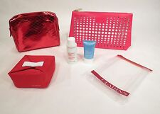(4) Clarins Bags w/ Extra-Firming Cream | Make-up | Cleansing Milk | HydraQuench