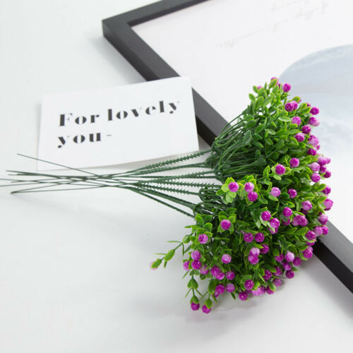 Party Festival Supplies Milan Artificial Plants Plastic Flower Fake Flowers