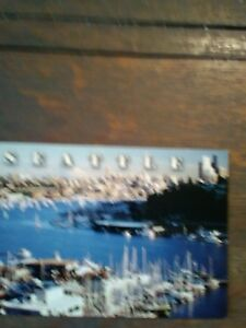 Beautiful Vintage Photo Post Card From Seattle Washington Ebay