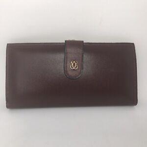 Vintage Split Cowhide Double Kiss Lock Ladies Clasp Bifold Wallet New Old Stock Ebay