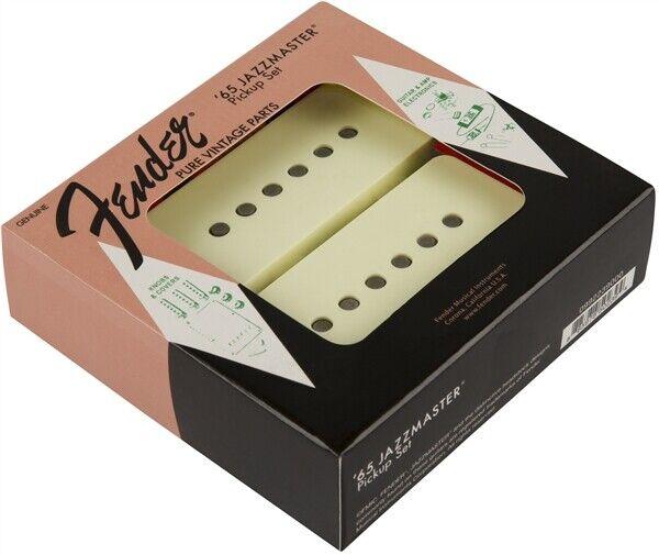 Neu Original Fender USA Reine Klassischer '65 Jazzmaster Tonabnehmer 2er Set