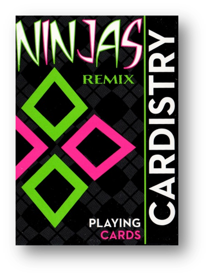 Limited Edition Cardistry Ninja Remix By De 'vo Playing Cards Poker Carte Da Gioco Costo Moderato