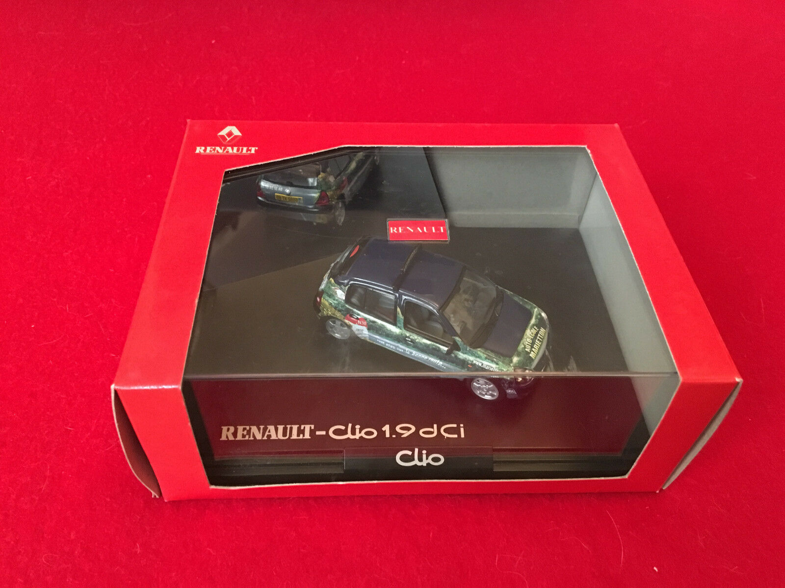 Coffret Auto-école Renault Clio 1.9 DCI 1 43 Norev