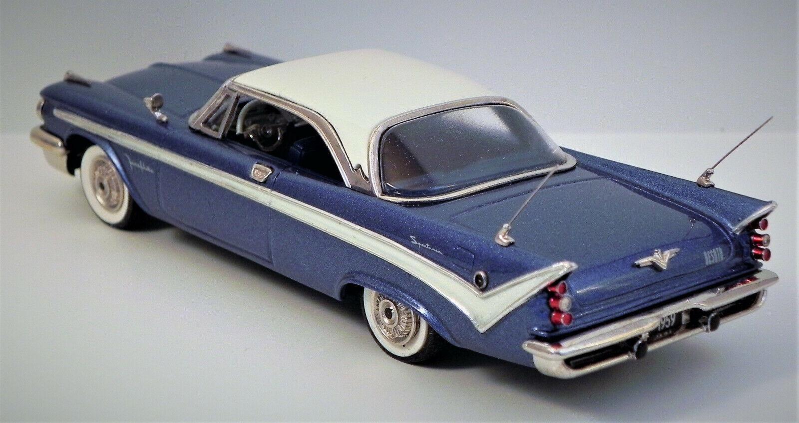 Wmce 1959 DE SOTO FIREFLITE Ht-Bleu wmce 20