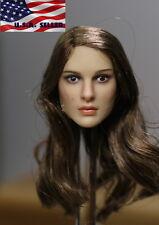 1/6 Natalie Portman Head Sculpt KIMI KT008 For Hot Toys Phicen Female Figure