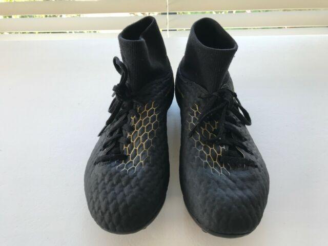 new concept 5d163 7d7a4 BOYS NIKE SOCCER/FOOTBALL BOOTS HYPERVENOM PHANTOM III ACADEMY DF FG UK 5.5  US 6