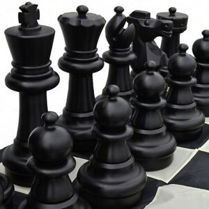 Yard Games YG0340 Plastic Chess Set