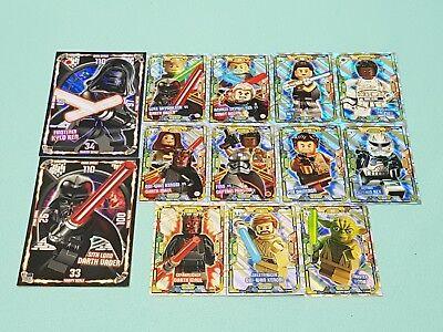 Le21-Obi-Wan Kenobi vs DARK MAUL-édition limitée lego star wars cartes