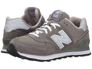 8dae8156be05 NEW BALANCE Mens  Classics M574  Gray Encap Sneakers Sz 8-13 D NEW ...