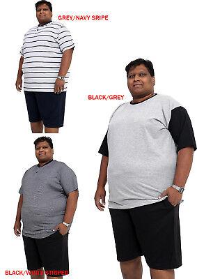 Mens Big Plus King Size Pyjama Set Nightwear Suit 2XL 3XL 4XL 5XL