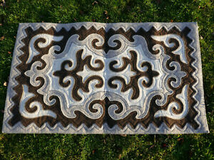 1-40-x-0-83m-Filz-Teppich-Shirdak-Schirdak-Shyrdak-Kirgisistan-tappeto-rug-Kilim