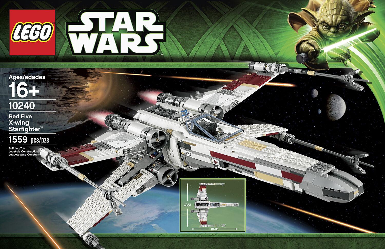 LEGO 10240 STAR WARS  rouge Five X-Wing Starfighter Neuf Scellé  nouveaux produits nouveautés