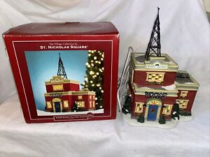 Retired 2004 St Nicholas Square Village WXMS Holiday Hits Radio Station IOB EUC