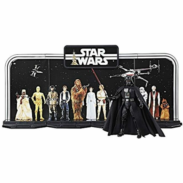 Disney Star Wars Black Series 40th Anniversary Collection - Black, 6 Inch Darth