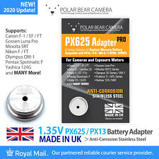 PX625 MR-9 1.35V Battery Converter Adapter ONLY (Replace Wein Cell) *MADE IN UK*