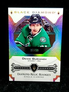 2017-18-DENIS-GURIANOV-Upper-Deck-Black-Diamond-Relic-Rookies-99-Rookie-CLEAN