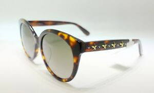 7af9b0e90d Image is loading Jimmy-Choo-Astar-Dark-Havana-Oversized-Sunglasses-with-
