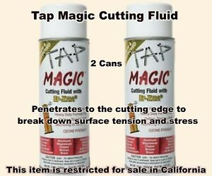 2-Tap-Magic-Cutting-Oil-12-oz-Aerosol-Spray-Cans-Drilling-Tapping-Threading