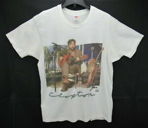 Vintage Original ERIC CLAPTON Unplugged Size XL T Shirt RARE Single Stitch