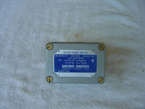 MICRO SWITCH  Splash Proof Switch    OP-AR20        0P-AR20
