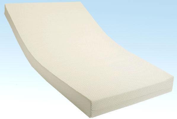 Comfort Matratze Schaumstoff Bezug Milano 160 x 190 x 10cm Härtegrad 2
