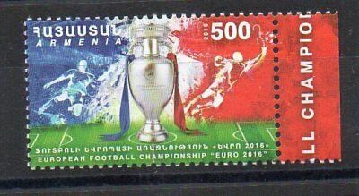 Briefmarken - 2018 - Armenien - Armenia - Fifa - Europa Meisterschaft - Wir Haben Lob Von Kunden Gewonnen