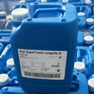 Aral SuperTronic LongLife III 5W-30 - 20 Liter 1x20L Motor?l für VW Audi uvm.