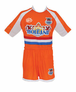 9faaff121 Image is loading Netherlands-Home-Arza-Youth-and-Adult-Soccer-Uniform
