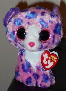 Ty Beanie Boo's ~ REAGAN the Leopard (6 Inch)(Claire's Exclusive) NEW MWMT
