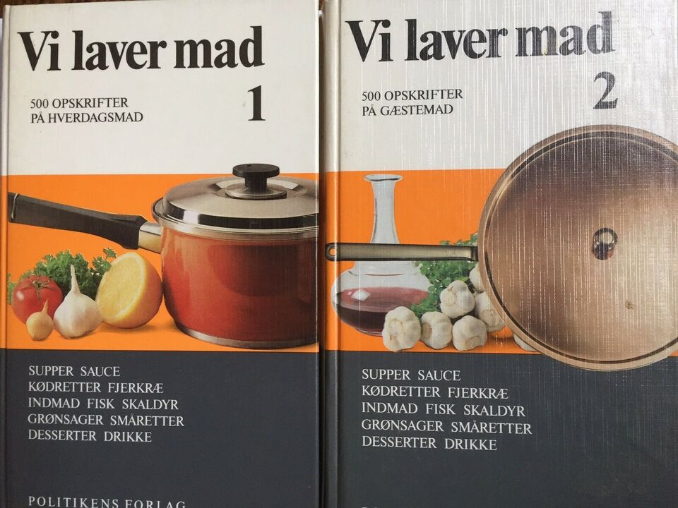VI LAVER MAD 1-2 * 2 x 500 retter, Else Algreen m.fl. -