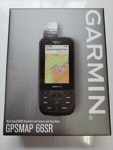 BRAND NEW Garmin GPSMAP 66sr Multi-Band GPS/GNSS Handheld With Sensors