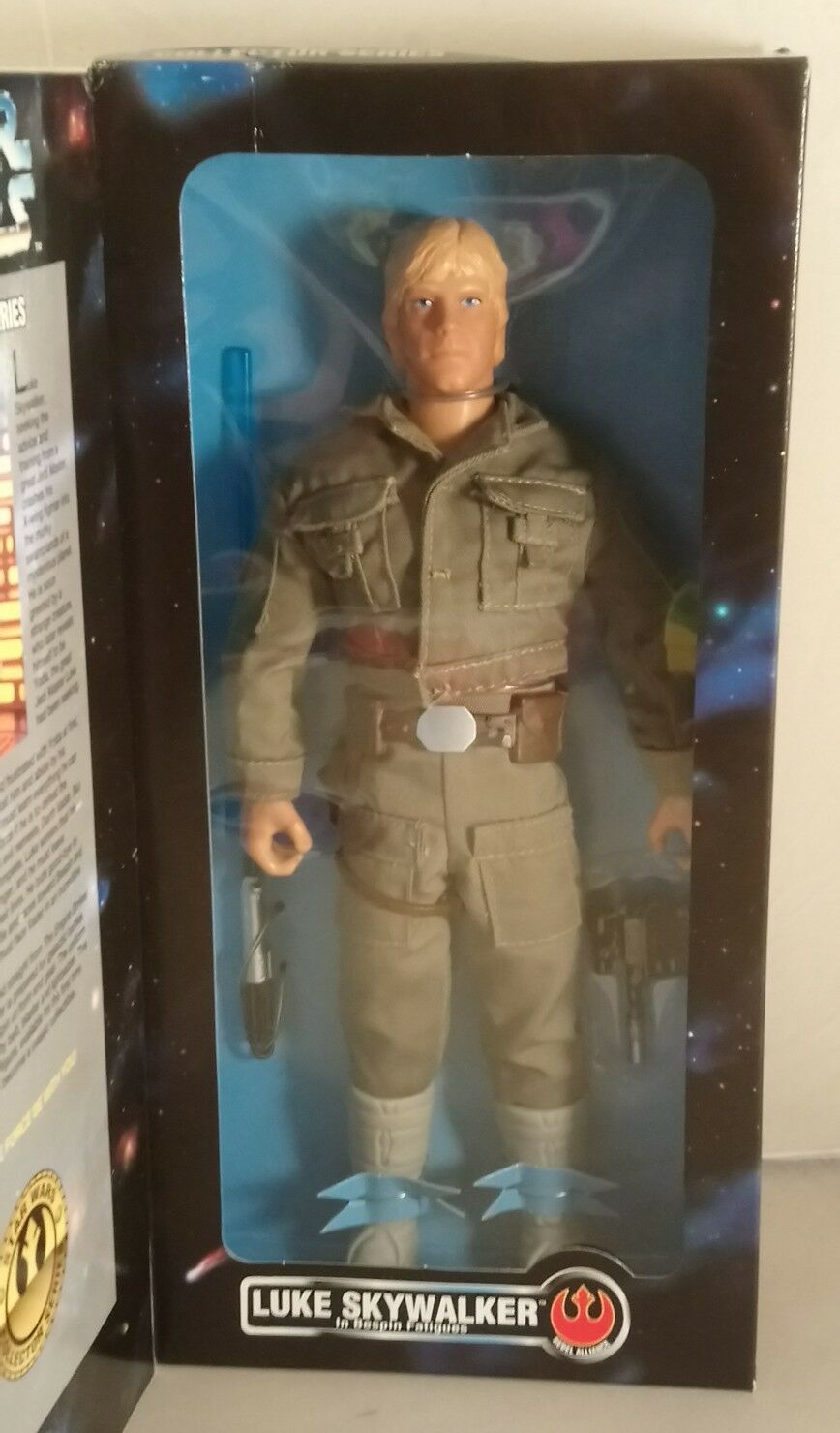 Star Wars Collectors Series Luke Skywalker in Bespin Bespin Bespin Fatigues 12'' boxed b0fe52
