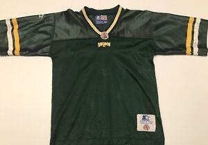 Team-Autographed-Vintage-Edmonton-Eskimos-1990-039-s-Starter-Youth-Small-CFL-Jersey