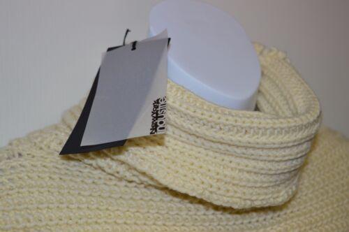 M Sweater in Cream RRP £90 New York Industrie Italian Womens Poncho Jumper