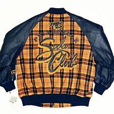 Pelle Pelle Marc Buchanan Soda Club Wool / Leather Varsity Jacket Coat Vintage