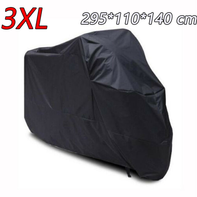 XXL Waterproof Motorcycle Rain Cover For Kawasaki Vulcan 1700 1600 1500 2000 90