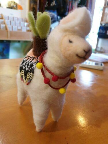 Needle craft Felt Llamas and flamingos 4 variations.....free p/&p
