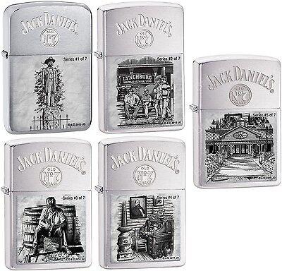 Zippo Limited Jack Daniel's Lynchburg 1,2,3,4,5  28736 28737 28755 28756 28894