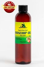 ROSEHIP SEED OIL UNREFINED ORGANIC EXTRA VIRGIN COLD PRESSED PREMIUM PURE 4 OZ