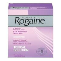 2 Pack Women's Rogaine Hair Regrowth Treatment Unscented 3 Month Supply Each on sale