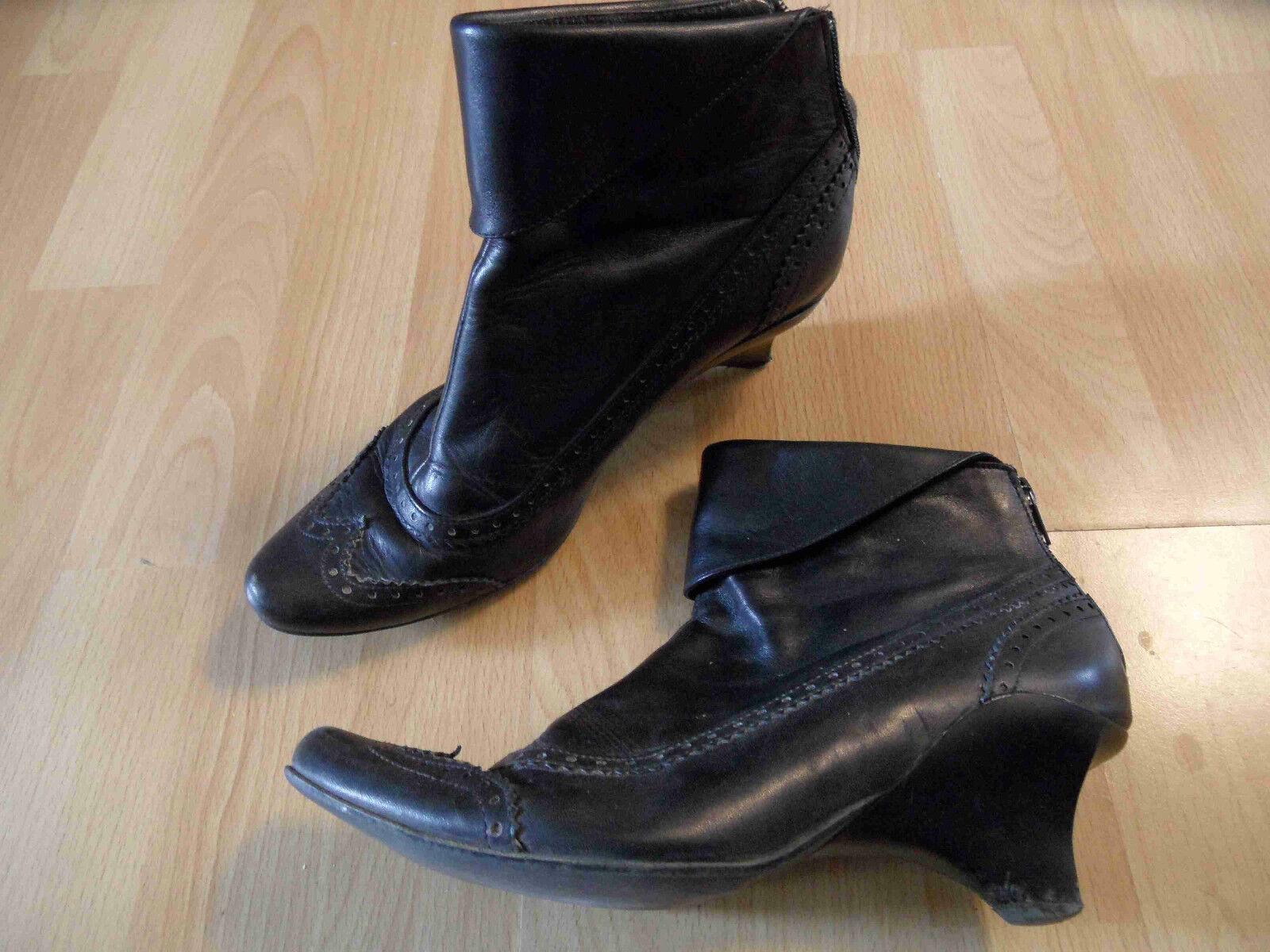 Lisa tucci élégants de Budapest Bottines bottes taille 37 top zc616