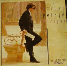 ARTURO PAREJA OBREGON-LEJOS DEL MAR LP VINILO 1989 + FOTO + BIOGRAFIA SPAIN