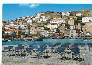 hydra greece postcards