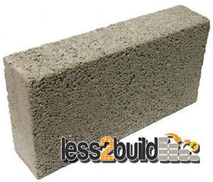 solid dense concrete block 140mm 66 blocks per packs ebay. Black Bedroom Furniture Sets. Home Design Ideas