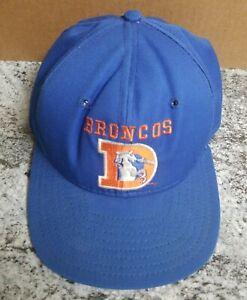 a9cc1c1d8494df 90's Vintage Denver Broncos Pro Line Snapback Hat NFL Team Throwback ...