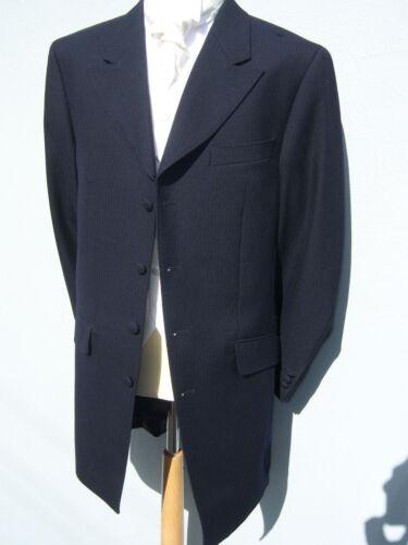 SALE £10 MENS BLUE 3//4 LENGTH PRINCE EDWARD WEDDING DRESS DRAPE JACKET RP £79