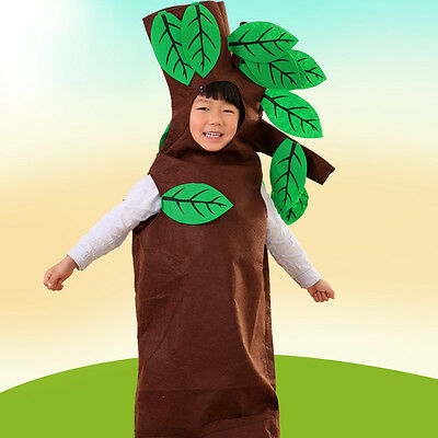 Girls Boys Children Fruit Vegetable Cosplay Performance Fancy Dress Up Costume