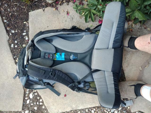 Deuter Backpack Trekking Hiking Mountain-Climbing Aircontact pro 75+ 15 Blue