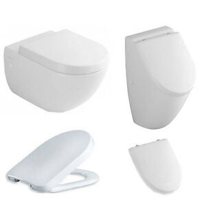 villeroy boch subway wand wc sitz urinal im set. Black Bedroom Furniture Sets. Home Design Ideas